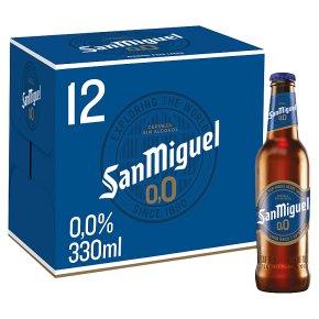 San Miguel 0.0%
