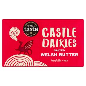Castle Dairies Welsh Butter Salted