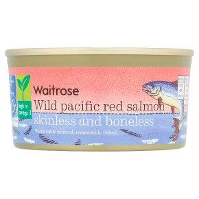 Essential Wild Red Salmon Skinless & Boneless