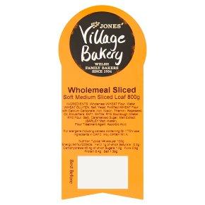 Village Bakery wholemeal sliced loaf