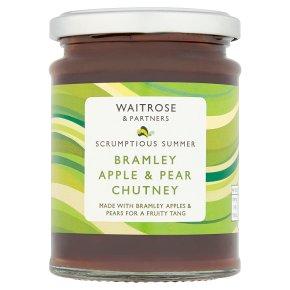 Waitrose Bramley Apple & Pear Chutney