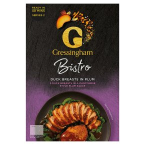 Gressingham Duck Breasts in Plum Sauce