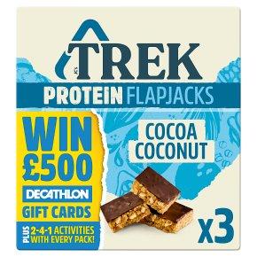 Trek Cocoa Coconut Protein Flapjacks