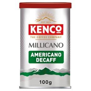 Kenco Millicano Americano Decaf Instant Coffee