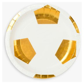 Talking Tables Football Shaped Plates