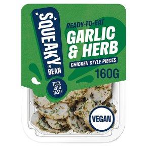 Squeaky Bean Garlic & Herb Chicken Style Pieces