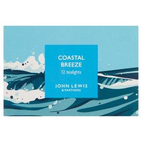 John Lewis Coastal Breeze Tealights