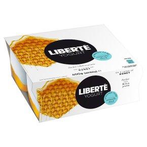 Liberté Yogurts on a Layer of Honey