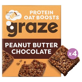 Graze Peanut Butter & Chocolate Oat Boosts
