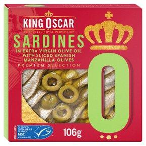 King Oscar MSC Sardines with Sliced Manzanilla Olives
