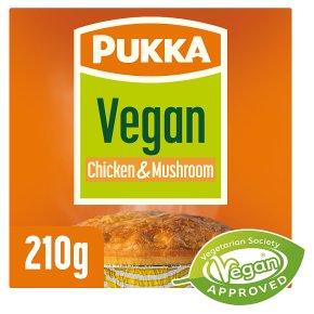 Pukka Vegan Chicken & Mushroom Pie