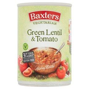 Baxters Vegetarian Green Lentil & Tomato