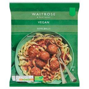 Waitrose Vegan Soya Balls