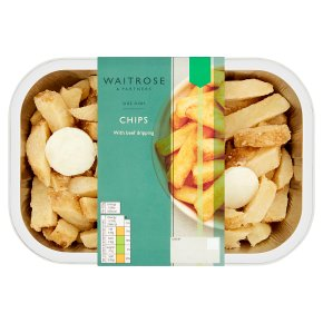 Waitrose Chips with Beef Dripping