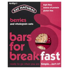 Eat Natural Bars for Breakfast Berries