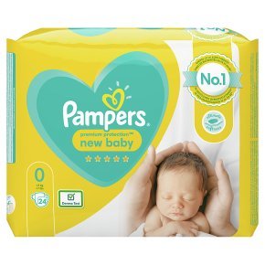 Pampers 0 New Baby Nappies