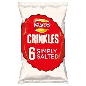 Walkers Crinkles Simply Salted