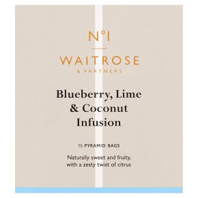 No.1 15 Blueberry, Lime & Coconut Tea Bags