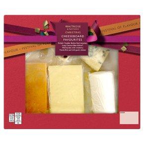 Waitrose 6 Cheese Selection