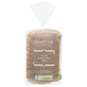 Waitrose Free From Mixed Seed Loaf
