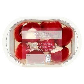 Waitrose Ricotta Stuffed Cherry Peppers