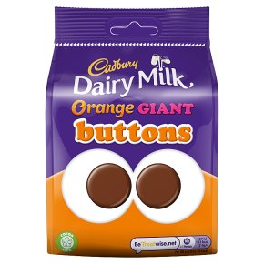 Dairy Milk Giant Buttons Orange