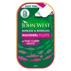 John West Mackerel Fillets in Thai Curry Sauce