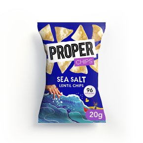 Proper Chips Lentil Chips Sea Salt