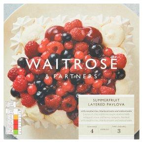 Waitrose Summerfruit Layered Pavlova