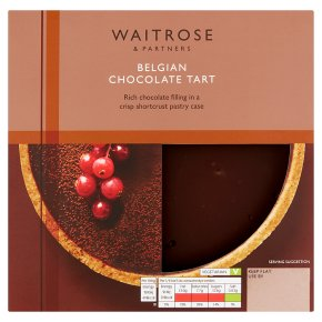 Waitrose chocolate tart