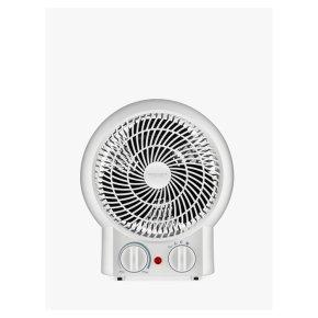 John Lewis White Fan Heater
