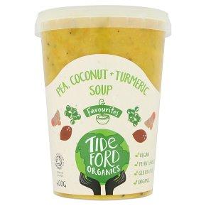 Tideford Pea, Coconut & Turmeric Soup