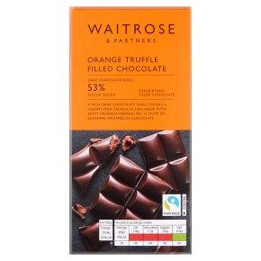 Waitrose Orange Truffle Filled Chocolate
