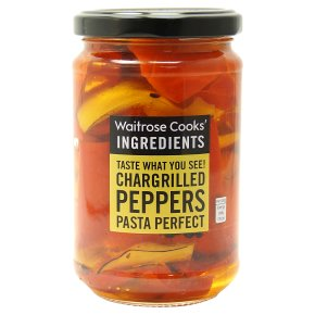 Cooks' Ingredients Chargrilled Peppers in Sunflower Oil