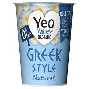Yeo Valley Organic 0% Fat Greek Style Natural Yogurt