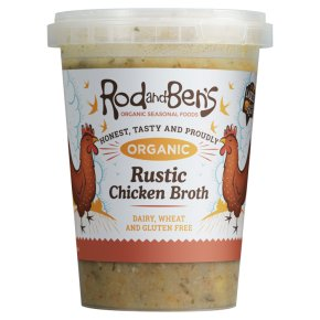 Rod and Ben's Organic Rustic Chicken Soup