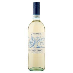 Waitrose, Pinot Grigio, Italian, White Wine