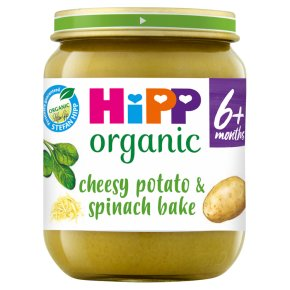 HiPP Organic Cheesy Potato Spinach Bake