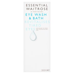 Essential Eye Wash & Bath