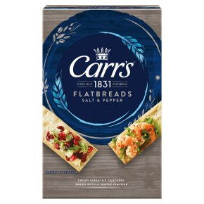 Jacob's Flatbreads Salt & Pepper