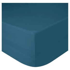 John Lewis Egyptian Cotton Fitted Sheet Teal Single