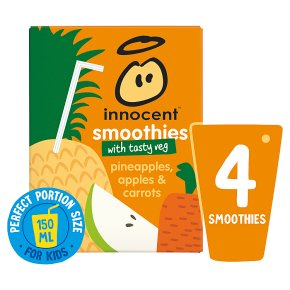 Innocent Smoothies Just for Kids Apple Pineapple & Carrot