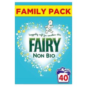 Fairy Non Bio 40 washes