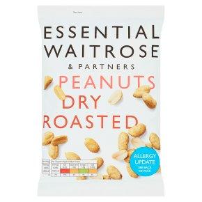 Waitrose Large Dry Roasted Peanuts