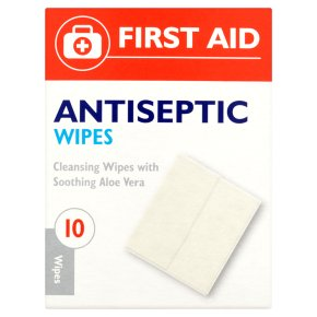 FirstAid Antiseptic Wipes