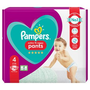 Pampers 4 Active Fit Pants