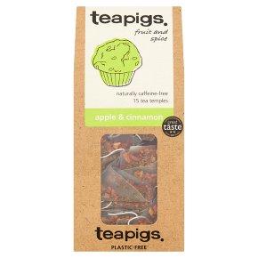 Teapigs Apple & Cinnamon 15 Tea Temples