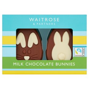 WAITROSE > Food Cupboard > Waitrose Milk Chocolate Bunnies