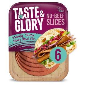 Taste & Glory 6 No-Beef Slices