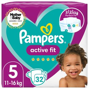 Pampers 5 Active Fit Nappies